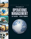 Principles of Operations Management and Student CD and Student DVD