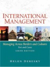 International Management: Managing Across Borders and Cultures
