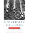 University Calculus: Elements with Early Transcendentals